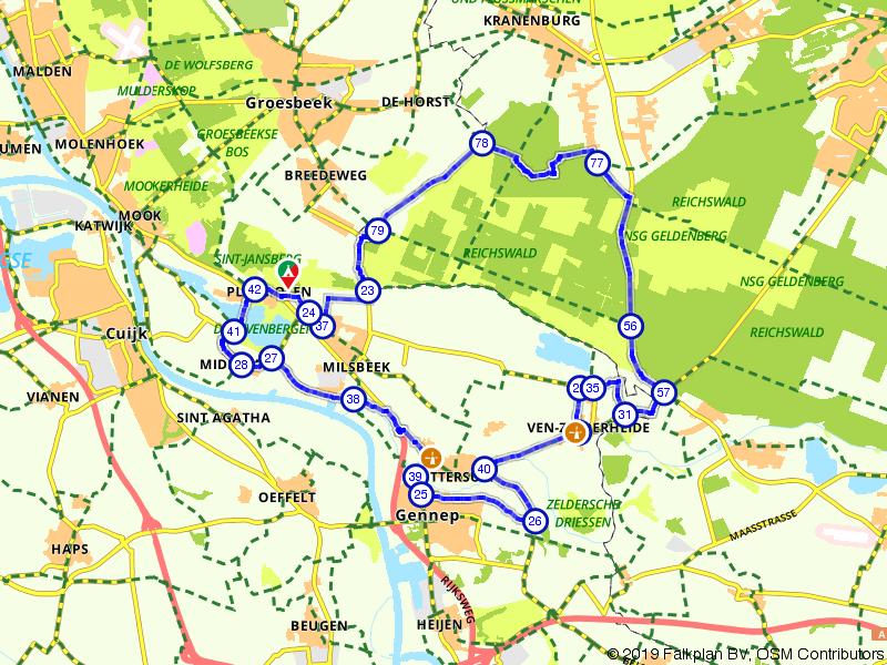 Vanuit Limburg naar het Duitse Reichswald