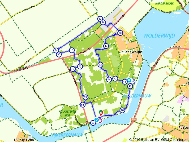 De groene oase van Horsterwold