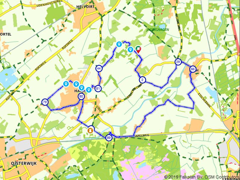 """Genieten tijdens een tocht in """"De Tuin van Brabant"""""""