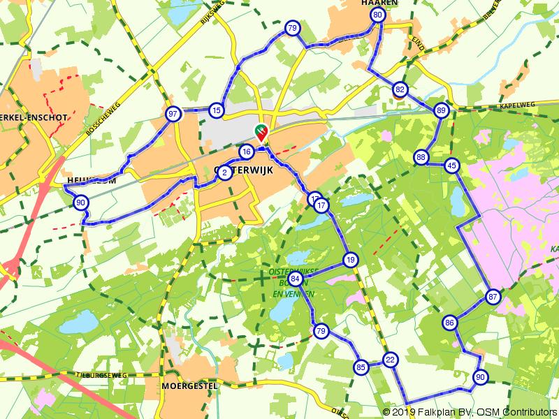 Fietsen door de Brabantse Kampina