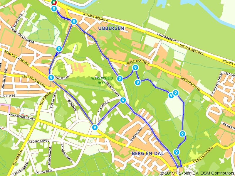 In eeuwenoude voetsporen bij Nijmegen