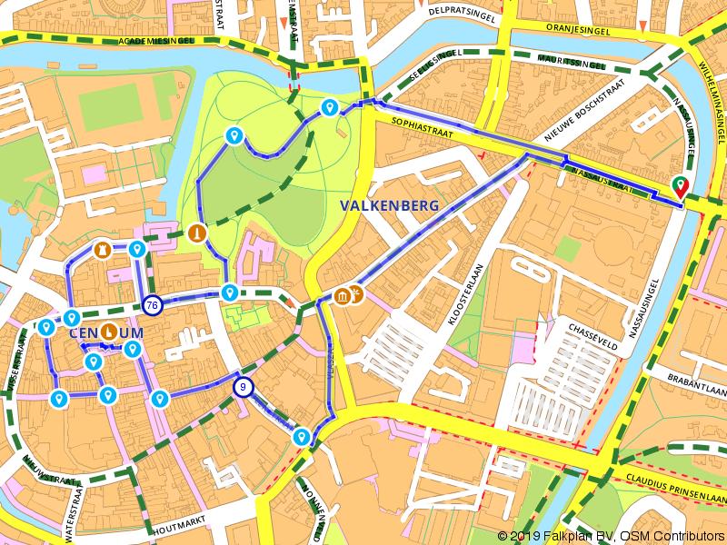Wandel de geschiedenis van Breda binnen