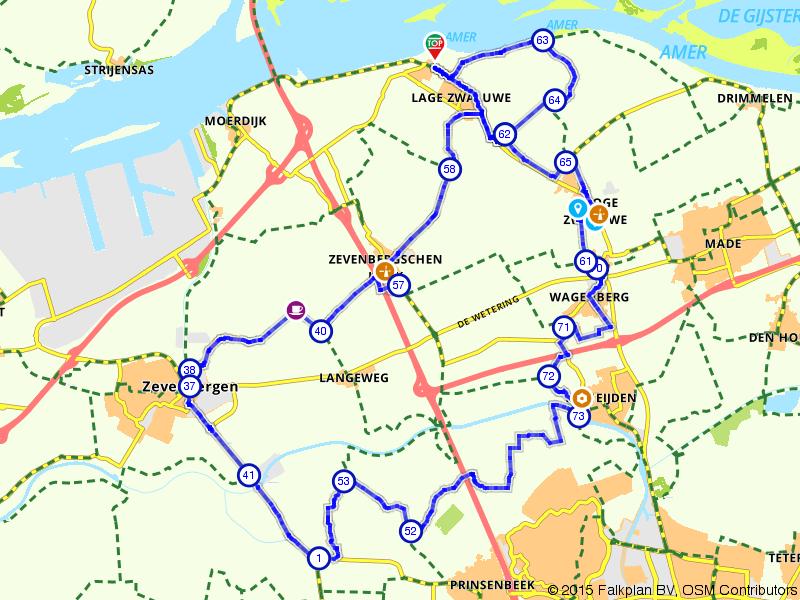 Tussen het Hollands Diep en Breda