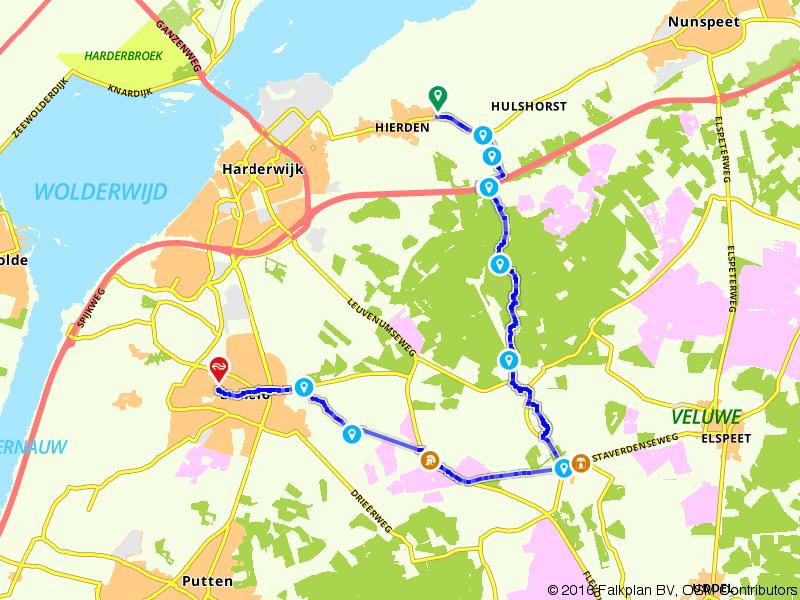 Wandelen door de Veluwe met Jacobus Craandijk