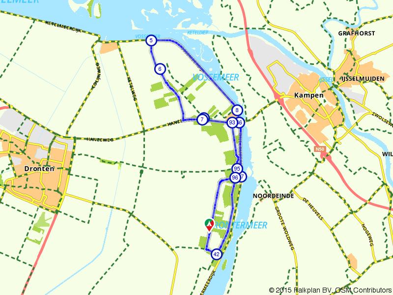 De bossen van Oostelijk Flevoland