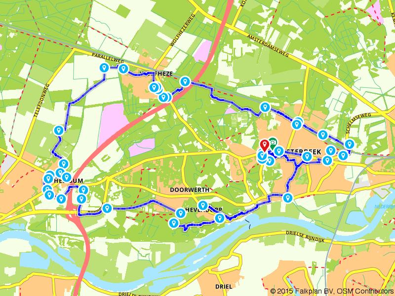 Airborne Wandeltocht - individuelen 25 km (wit)