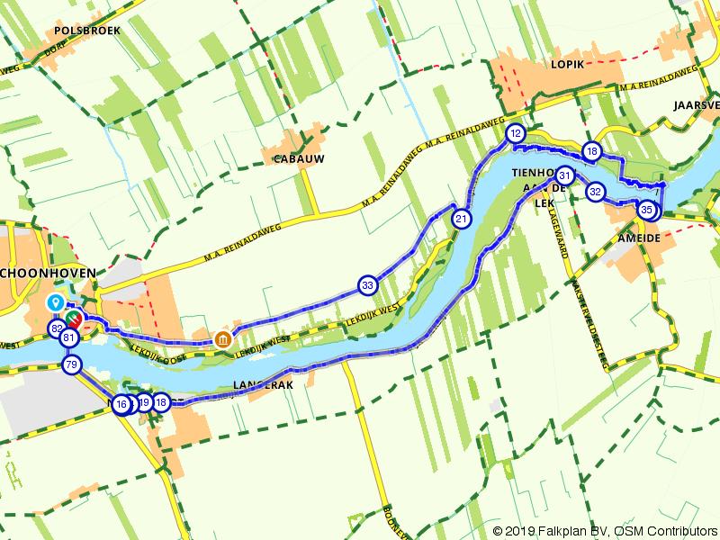 Langs de Lek: tussen Ameide en Schoonhoven