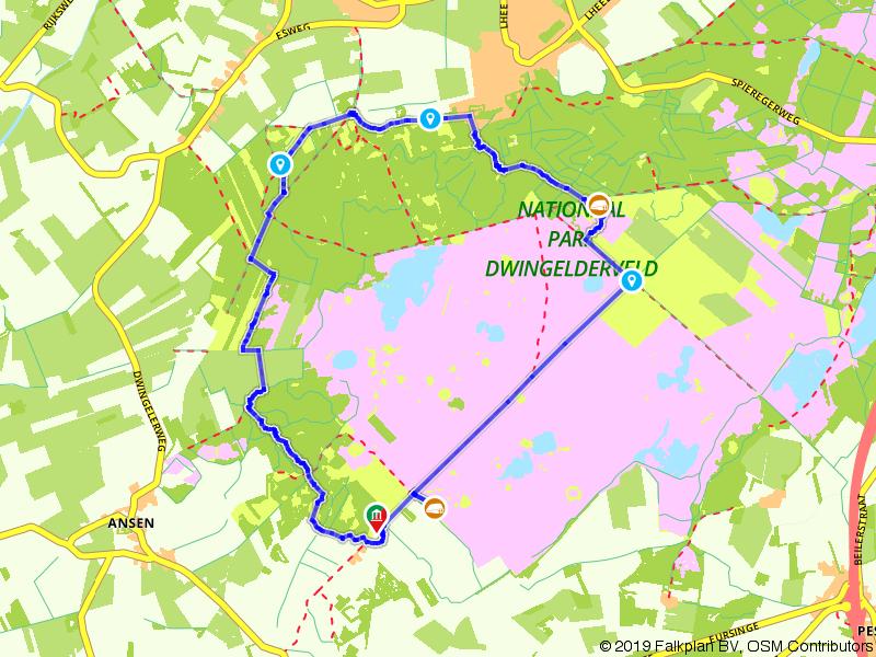 Wandelen door het Dwingelderveld bij Ruinen en Dwingeloo