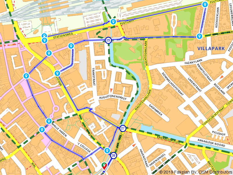 GlOW - Eindhoven 2014 route 1