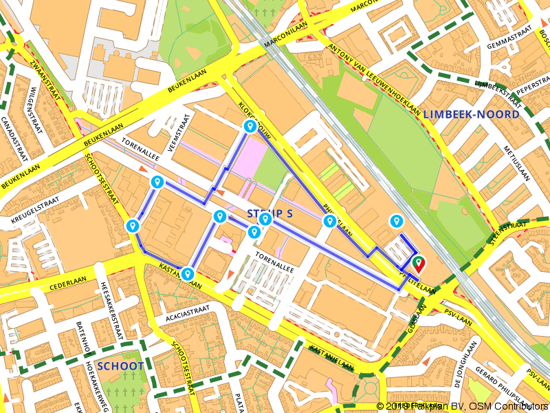 GLOW - Eindhoven 2014 route 2
