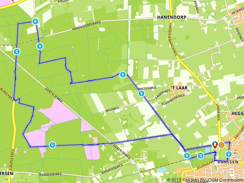 Wandelen in het Gortelse Bos nabij Vaassen