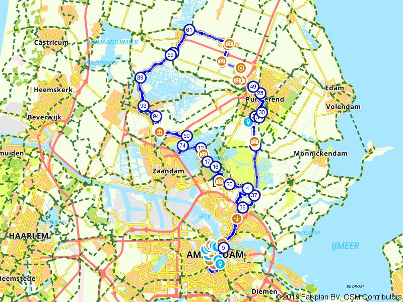 Van Wereldformaat Route