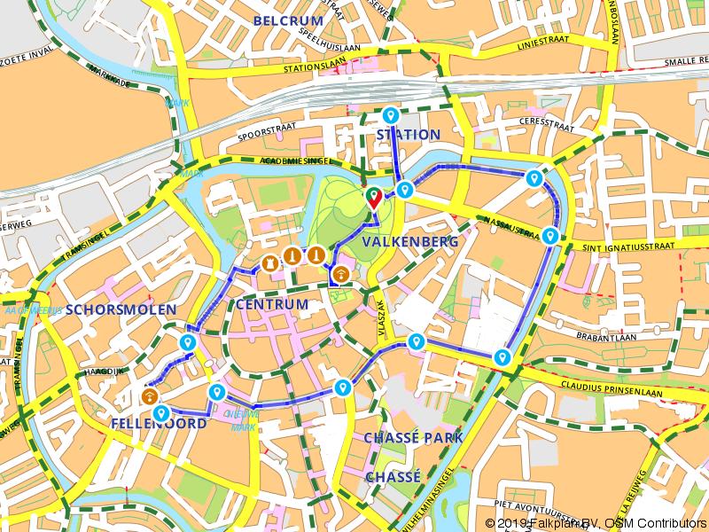 De stadswandeling door Breda