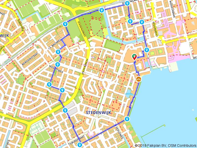 Een wandeling door Almere stad