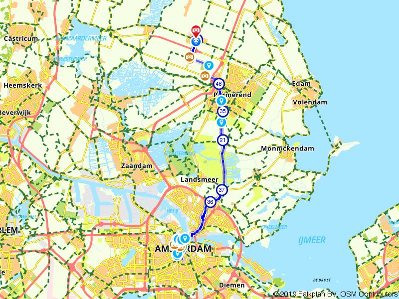 Van Werelderformaat Route