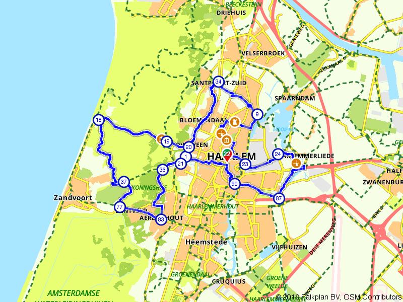 Ontdek stad en natuur van Haarlem