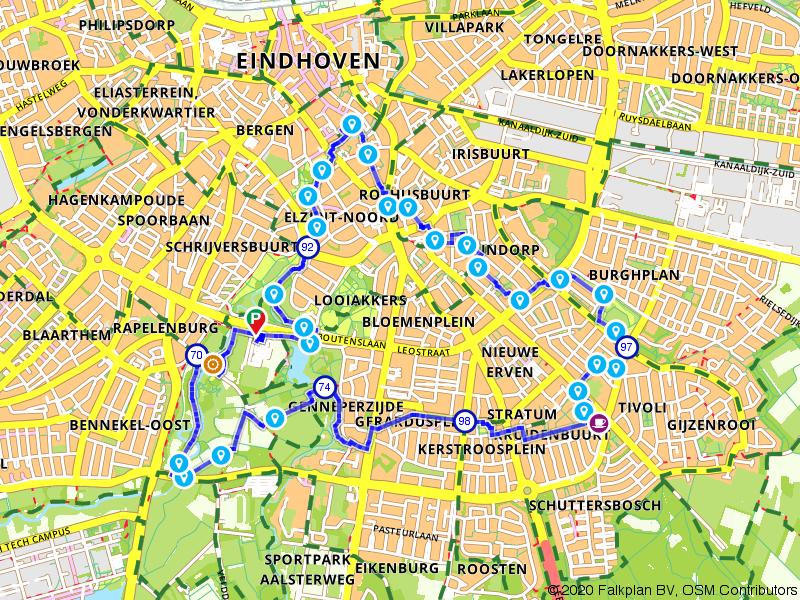 Stadswandeling door hartje Eindhoven