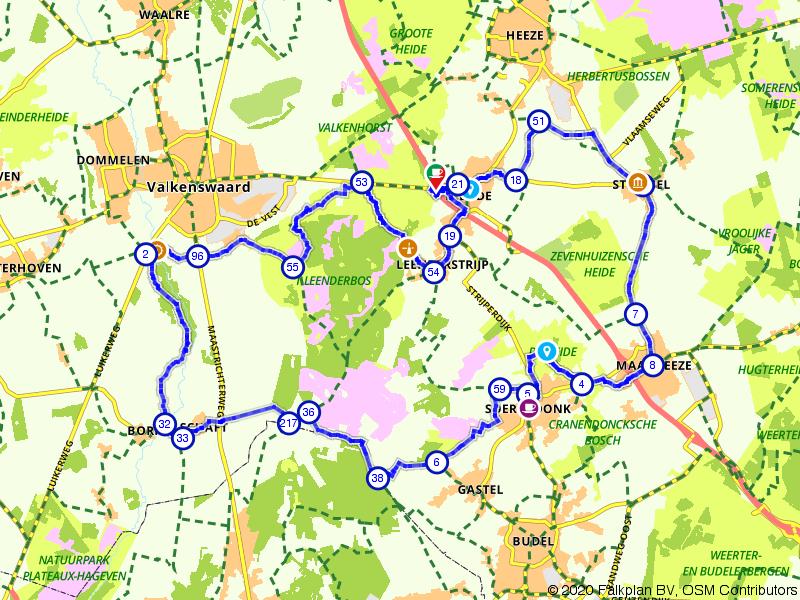 Leenderbos, Groote Heide; Genieten