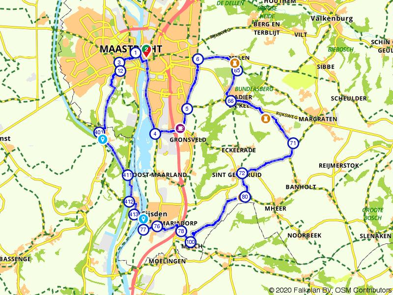 Door het hartje van Maastricht