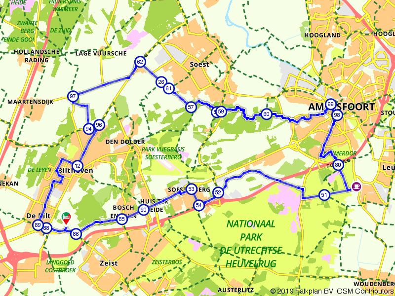 Fietsen in de omgeving van Soest