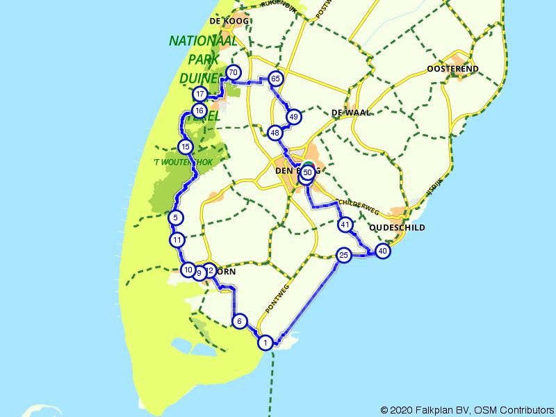 Jan-Wolkers-fietsroute