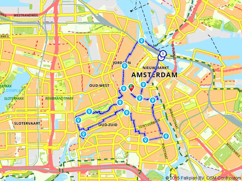 Geniet van hartje Amsterdam