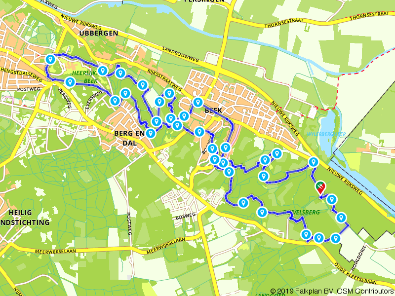 N70: Wandelroute in het Rijk van Nijmegen