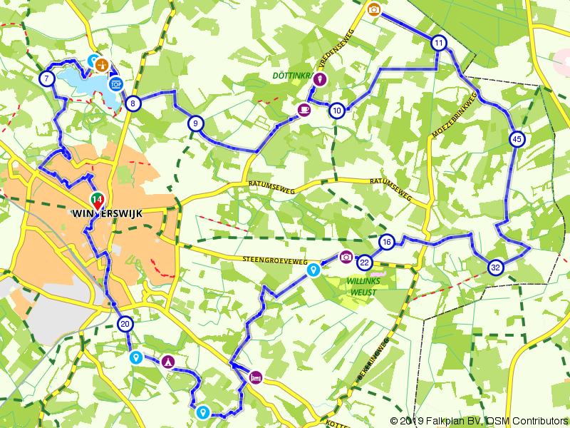 Rondje Steengroeve bij Winterswijk