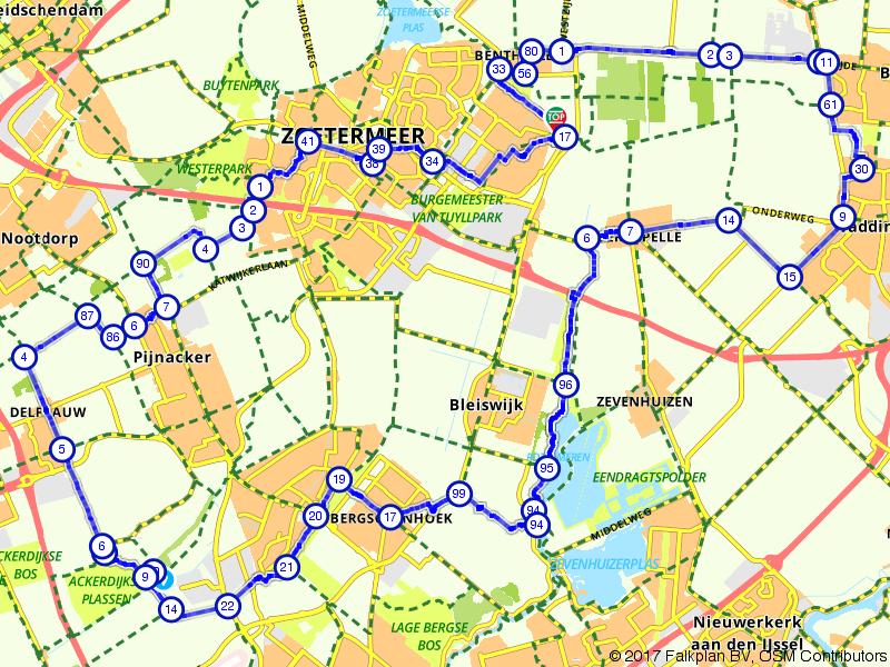 Zuidplas en Oostlandroute