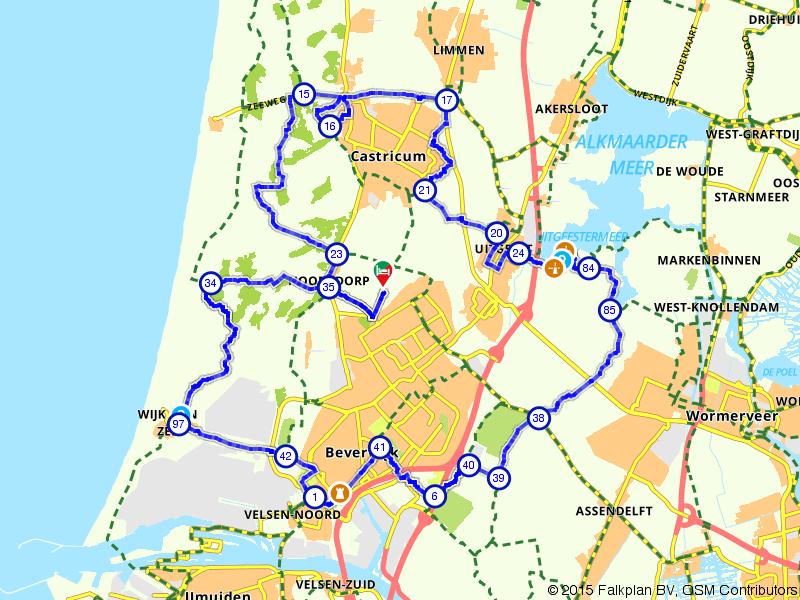 Uitwaaien rondom Castricum en Beverwijk