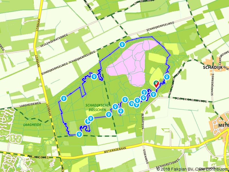 MTB route de Schaak