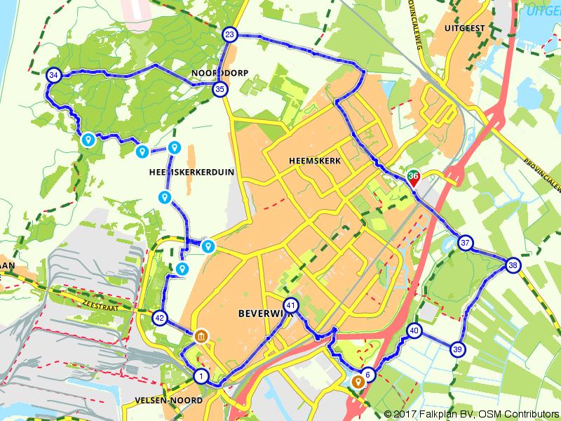 Een rondje Heemskerk