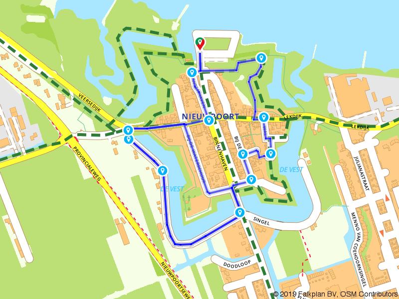 Waterlinieommetje Nieuwpoort
