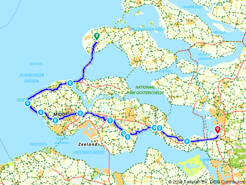 3. Renesse - Bergen op Zoom - Amstel Radler, Tour de Hollande