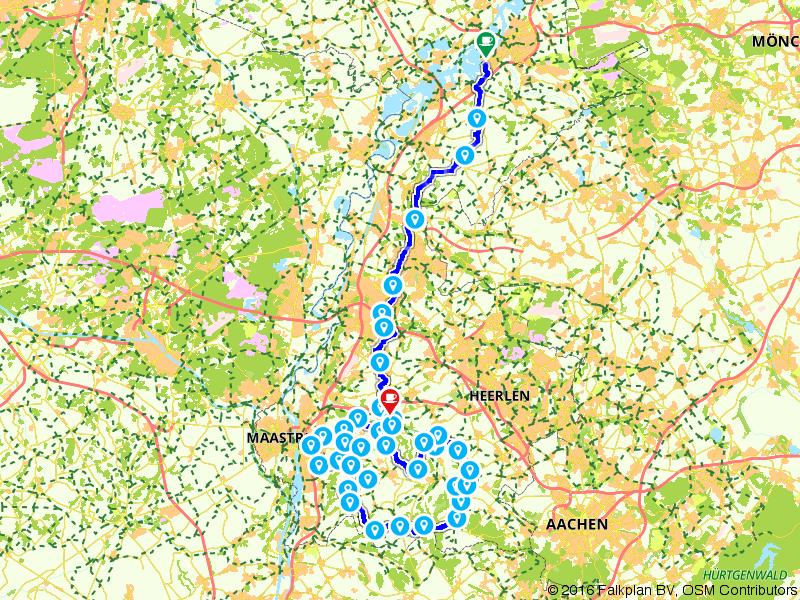6. Herten - Valkenburg (Cauberg) - Amstel Radler, Tour de Hollande