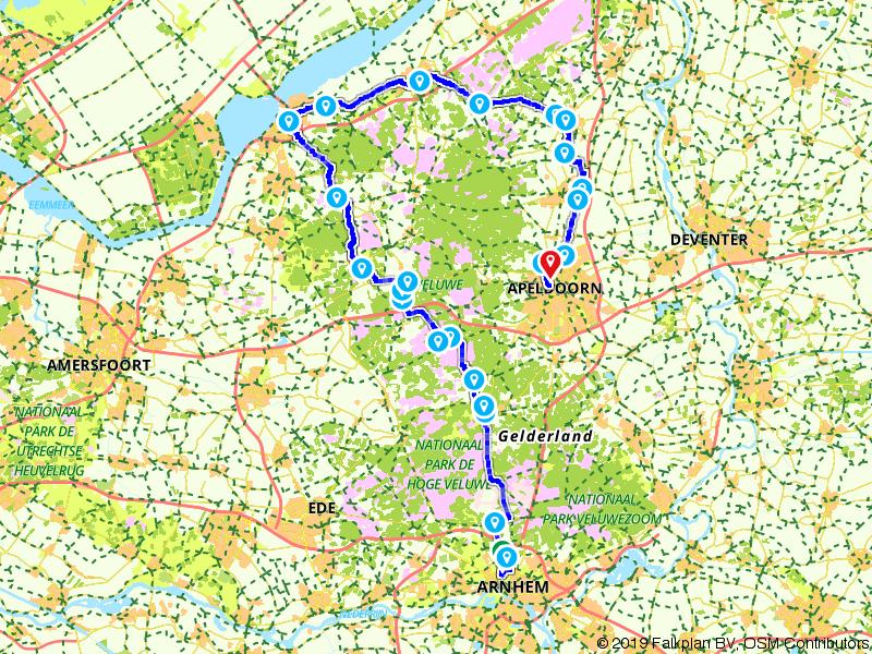 11. Arnhem - Apeldoorn - Amstel Radler, Tour de Hollande