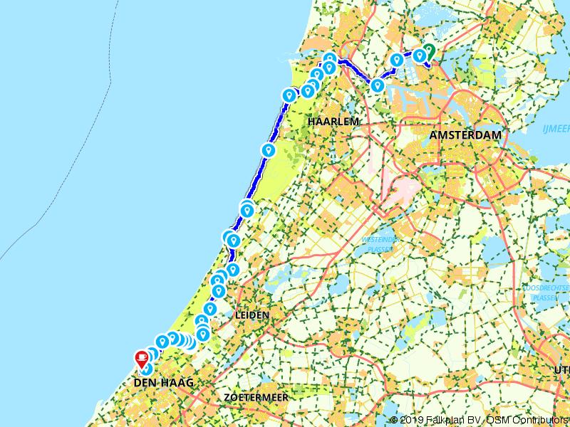 19. Zaandam - Den Haag - Amstel Radler, Tour de Hollande