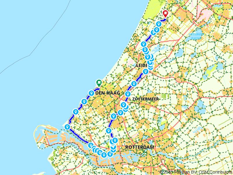 20. Den Haag - Hillegom - Amstel Radler, Tour de Hollande