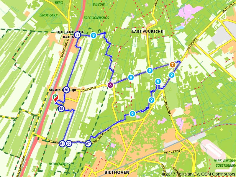 De natuur in bij Bilthoven