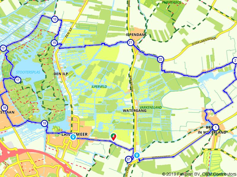 Oostzaan route