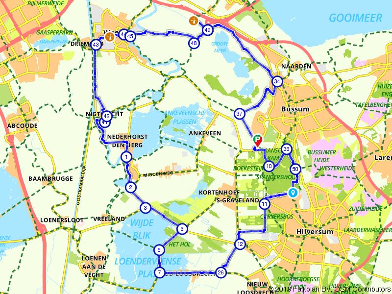 Ontdek het gebied in en buiten Vinkeveen
