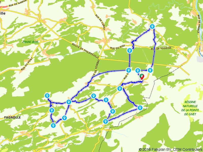 Een sportieve fietstocht rondom Gimnée