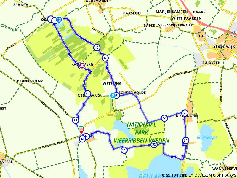 Fietsen door Nationaal Park Weerribben-Wieden