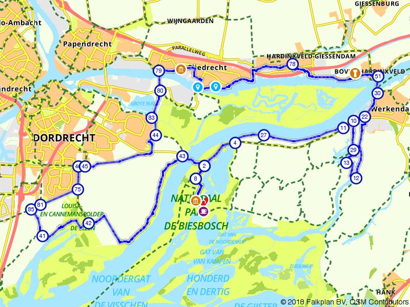 Een rondje om de Biesbosch