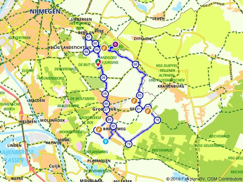 Wijnroute rondom Groesbeek