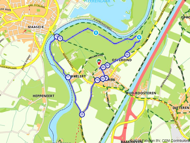 Wandelen langs de Grensmaas