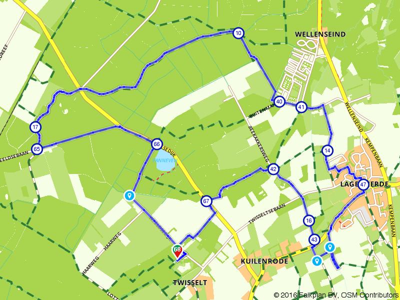 Internationale Kempische Wandeltocht. Dag 2 - 15 km