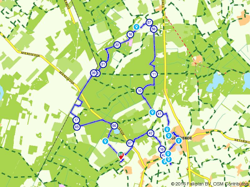 Internationale Kempische Wandeltocht. Dag 2 - 20 km