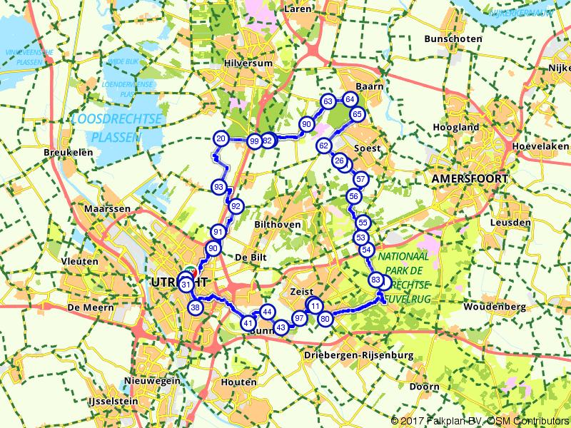 Ontdek Utrecht... Over de Heuvelrug