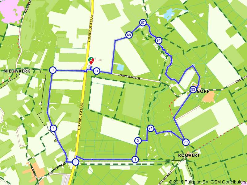 Wandelen over Brabantse landgoederen